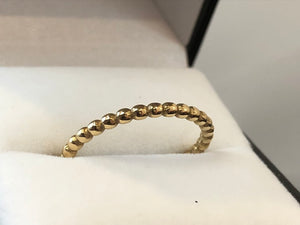 9ct Yellow Gold Ball Ring