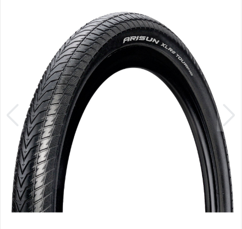 Neumatico Arisun Touring 700 X 32c Xlr8 Casing Pd Rsd Reflective Strip Wire Bead 60 Tpi Rigid