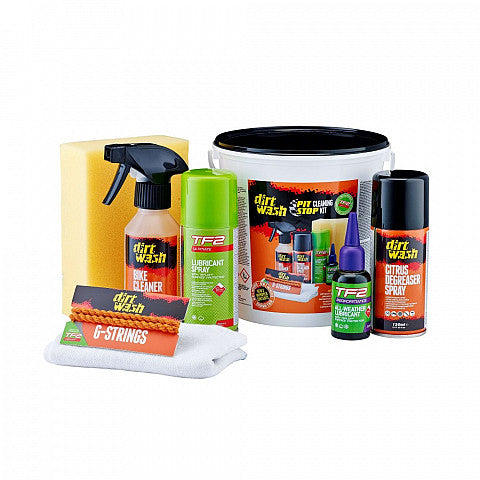 KIT PIT STOP CLEANING KIT WELDTITE