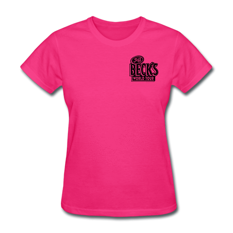 World Tour Tee (Women) - Pink