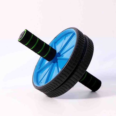 Double Exercise Wheel- Abs roller [Blue]