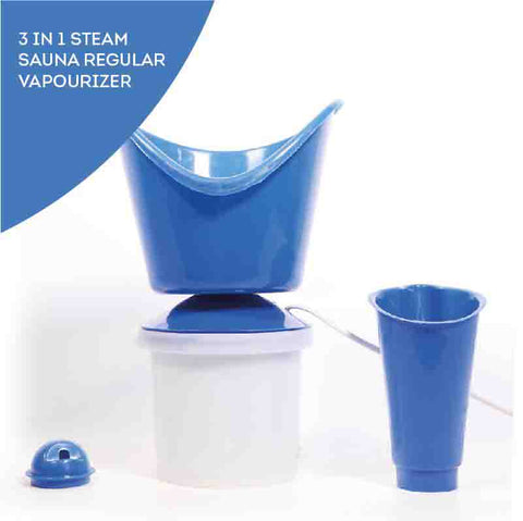 Electronic Steam Vaporizer (Use For Nasal Congestion & Beauty Purposes)