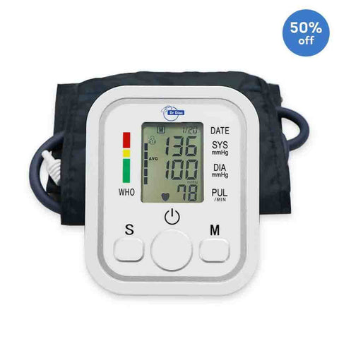 Blood Pressure Monitor (Dr. Diaz) with 1 Year Warranty