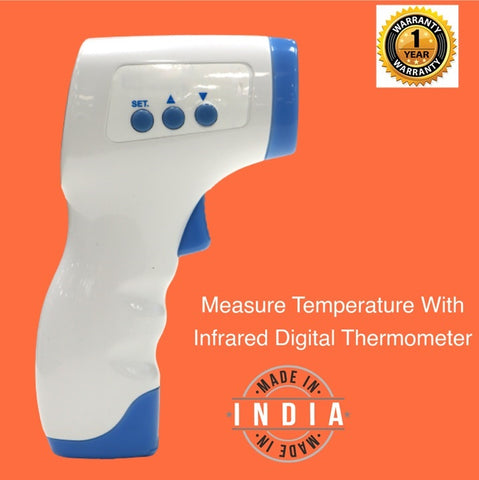 Swadeshi Infrared Thermometer-With 1Year warranty