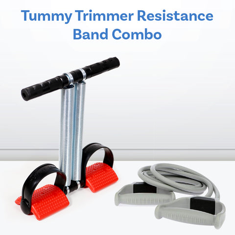 Tummy Trimmer Resistance Band Combo