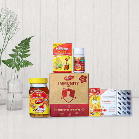 Immunity Booster Kit by Dabur and Zee Pharmacy
