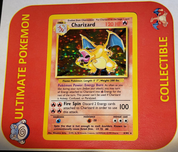 Base Set Charizard Mint Condition