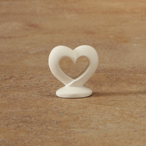 Open Heart Tiny Topper