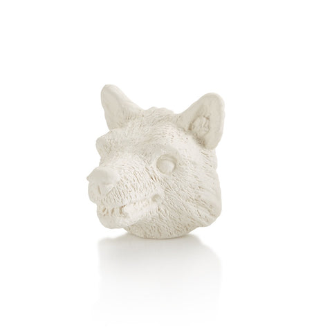 Wolf Head Tiny Topper