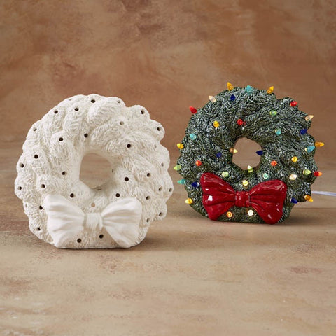 Light Up Wreath (includes light kit)