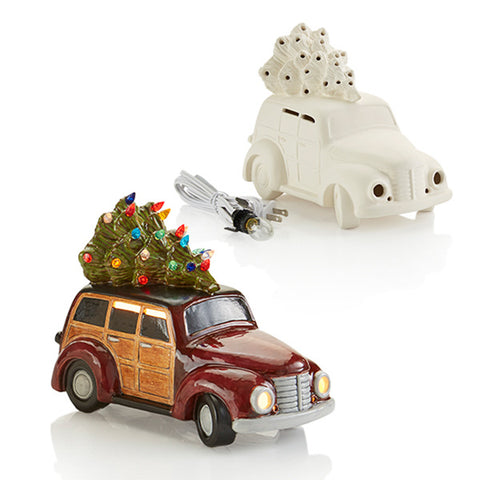 Woody Wagon with Christmas Tree with Step by Step Instructions