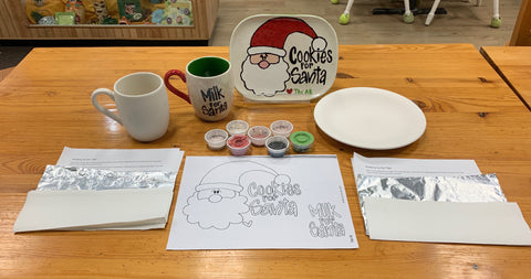 Cookies and Milk for Santa with Step by Step Instructions