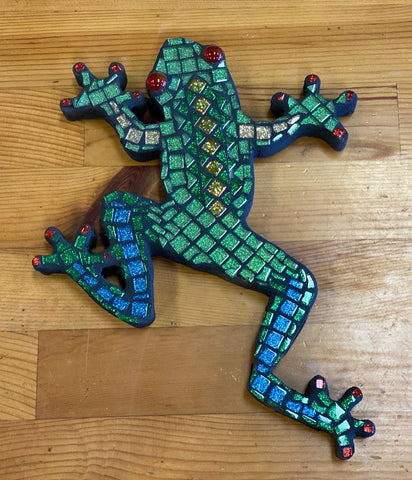 Froggy Mosaic Plaque Kit
