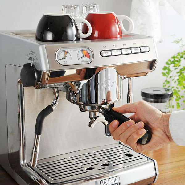 KD-270S Commercial Double Pump Coffee Machine Italian Style Steam Espresso Coffee Maker Pump Espresso Coffee  Machine 15  BAR