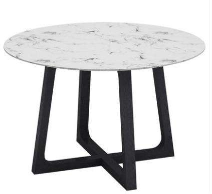 U-BEST luxury restaurant furniture italian carrara white marble dining table, designer post-modern minimalist conference table