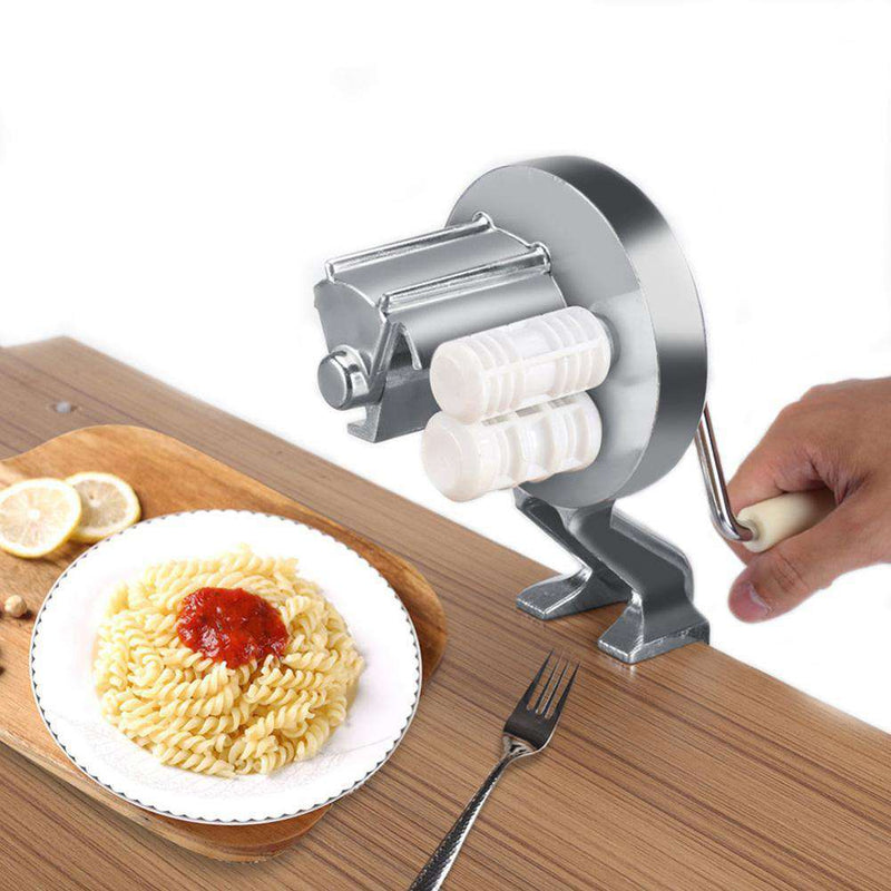 Aluminium Alloy New Pasta Maker Roller Machine Household Split Type Hand Crank Pasta Cutter For Spaghetti Noodle Fettuccine - Gustobene
