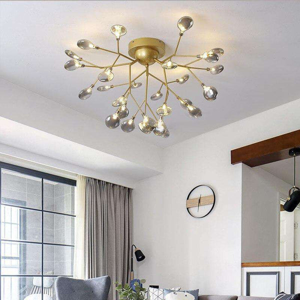 Italian Design Tree Branch Chandeliers Living Room Bedroom Kitchen stairwell chandelier Indoor stairwell romantic chandelier - Gustobene