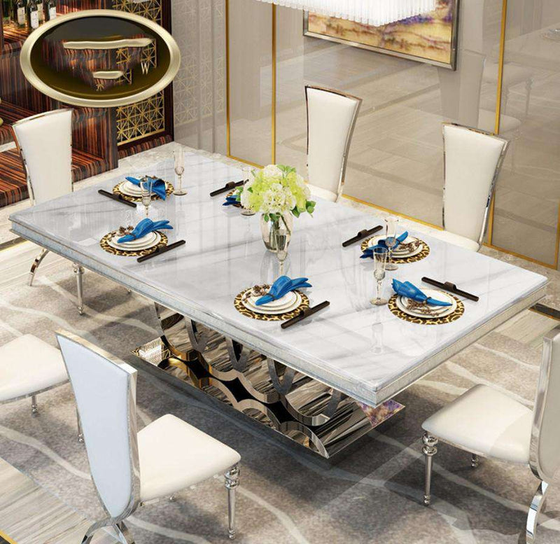Italian Dining Table, 100% Solid Wood - Gustobene