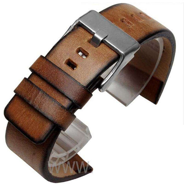 Quality Genuine Retro genuine Leather watchband men for DZ4343 DZ4323 DZ7406 watch strap vintage Italian leather 22mm 24mm 26mm