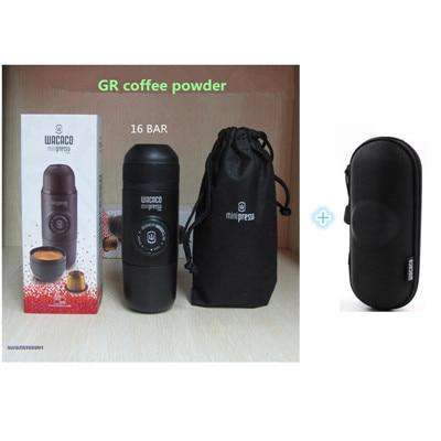 Mini coffee machine  capsule coffee machine coffee powder machine manual portable coffee machine pump coffee machine