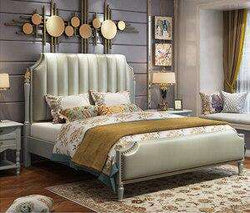 Hot sale Luxury Italian bed classic antique bed europe designs king size beds - Gustobene