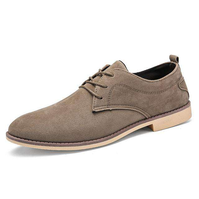 italian leather men shoes fashion elegant dress male footwear comfortable business work leahther moccasins oxford shoes for men - Gustobene