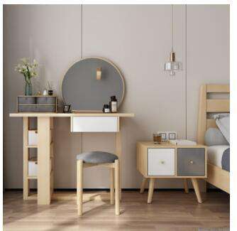 Modern combination tea table Italian simple square high and low tea table modern paint living room small table small apartment.