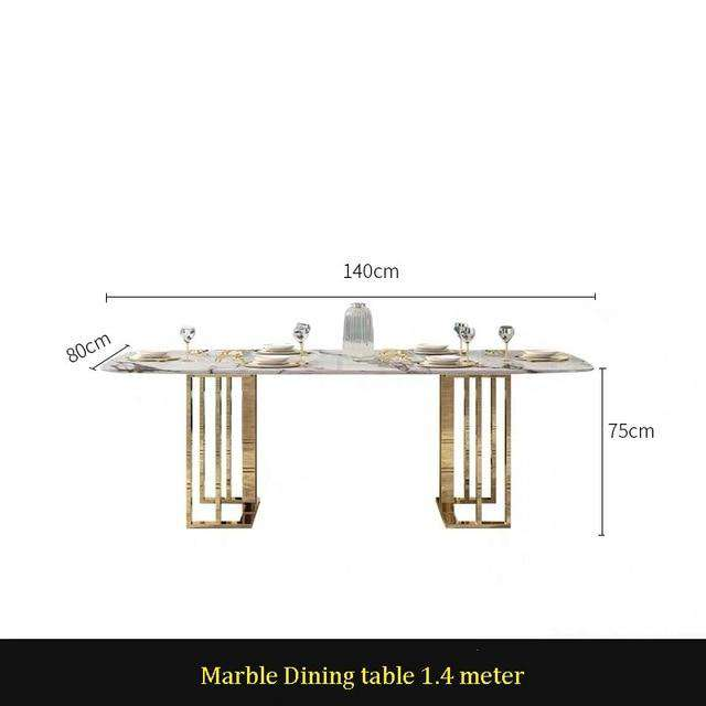 U-BEST Modern dining table dining room furniture designs ,italian luxury hotel restaurant marble dining table