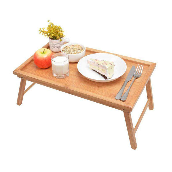 Wooden Folding Breakfast Table - Gustobene