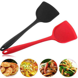 1pc High Quality Silicone Spatula Kitchen Non-stick High Temperature Resistant 230 Degree Chinese Spatula for Egg Fish Baking - Gustobene