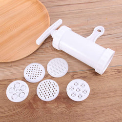 2Pcs Household Mini Manual Noodle Maker Space Saving Dough Press Machine Sausage Filling Machine Creative Pasta Noodle Maker - Gustobene
