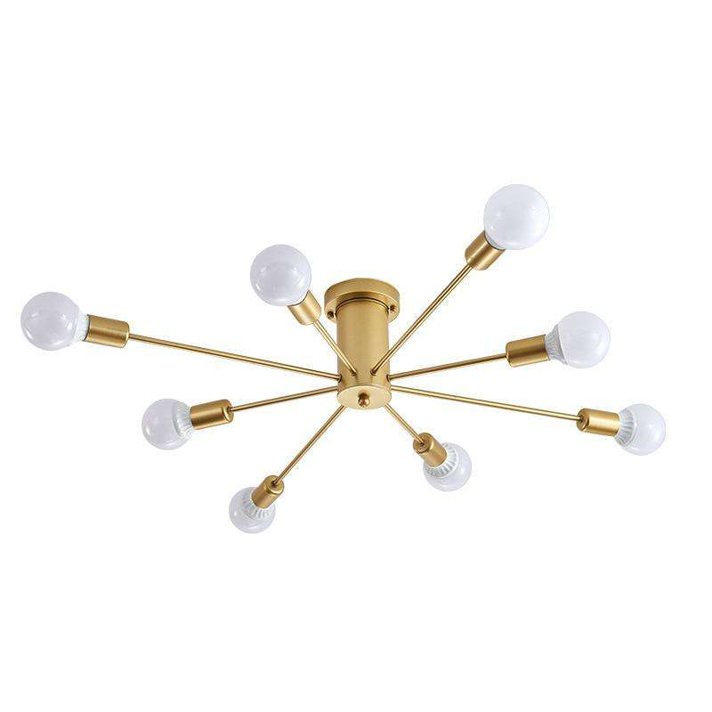 Vintage Metal Star Chandelier Lighting - Gustobene