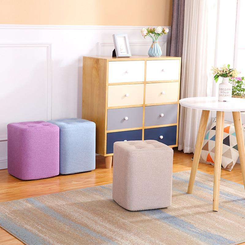 Fabric Small Stool Sofa - Gustobene