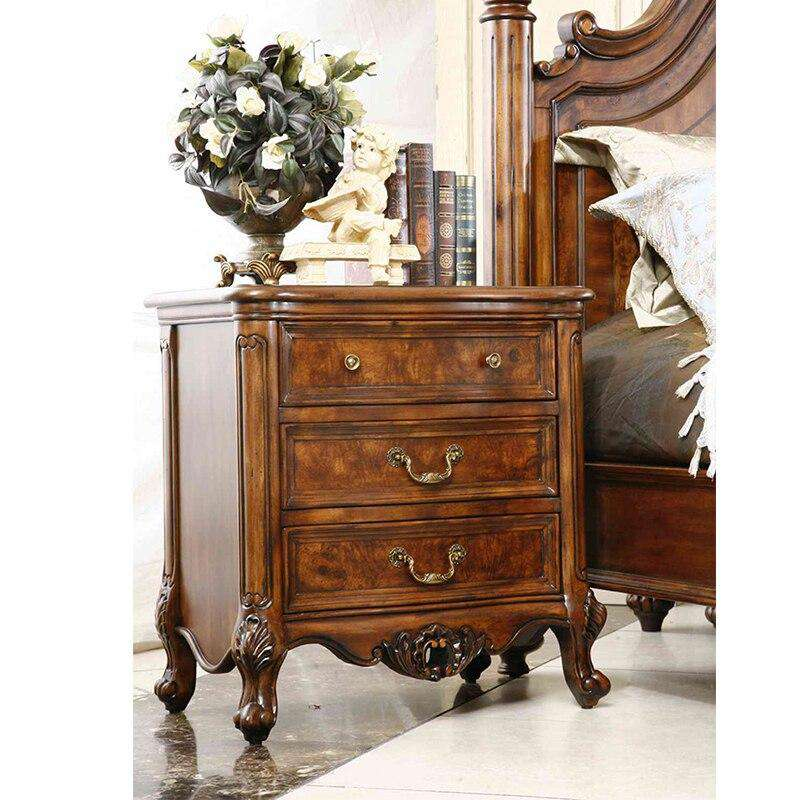 Italian Royal Wooden Bedroom Furniture,Luxury Night Stands Antyczne noc stoi GH06 - Gustobene
