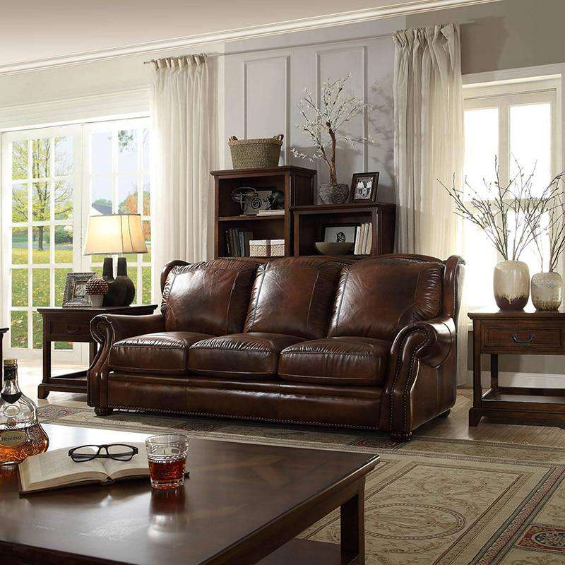 Italian modern leather sofa set designs living room furniture ensemble de canapé en cuir moderne современный кожаный диван WA660 - Gustobene