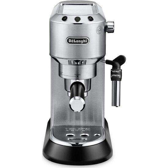 Delonghi Ec685M Espresso-Cappuccino Machine. Expresso maker vacuum cafe espresso machine kitchen glass automatic capsule cup - Gustobene