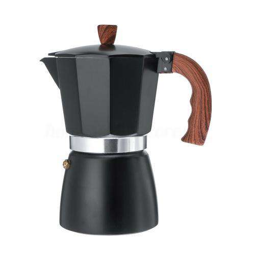 Portable Home Kitchen Aluminum Italian Style Espresso Coffee Maker Percolat Stove Top Pot Kettle