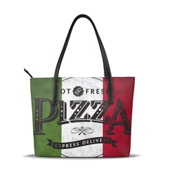 Ladies Hand Tote Bag Retro Grunge Italian Flag And Typographic Elements Women Shoulder Bags Messenger Bags Female HandBag OLN - Gustobene