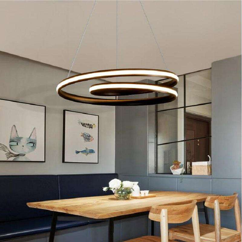 Art Decor suspension vertigo Pendant Lamp Cofee Shop Bar Restaurant lampe vertigo Indoor home decor lustre vintage lamp fixture - Gustobene
