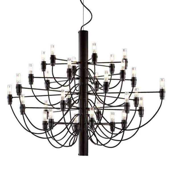 Italian designer 2097 Modern home decorationa lamps 18/30/50 Gold Black Silver Gino sarfaitti Chandelier dining Hang Lights - Gustobene