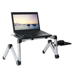 Adjustable Aluminum Laptop Desk - Gustobene