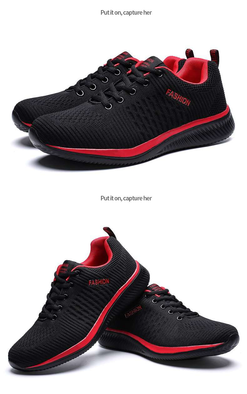 Casual Mesh Lightweight Shoes - Gustobene
