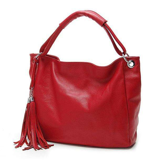 Ladies Designer Handbags High Quality Brand Name Handbags PU Leather Bag For Women Woman Red Bags italian Leather Bags - Gustobene