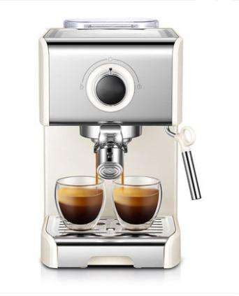 Italian Coffee Machine 20Bar Pump Espresso Machine Semi-automatic Espresso Coffee Maker Home Coffe Maker Commercial Milk Frother - Gustobene