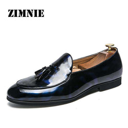 ZIMNIE Brand Italian Style Business Office Party Men Shoes Men Formal Dress Oxfords Wedding Shoes Footwear Plus Big Size 38~47
