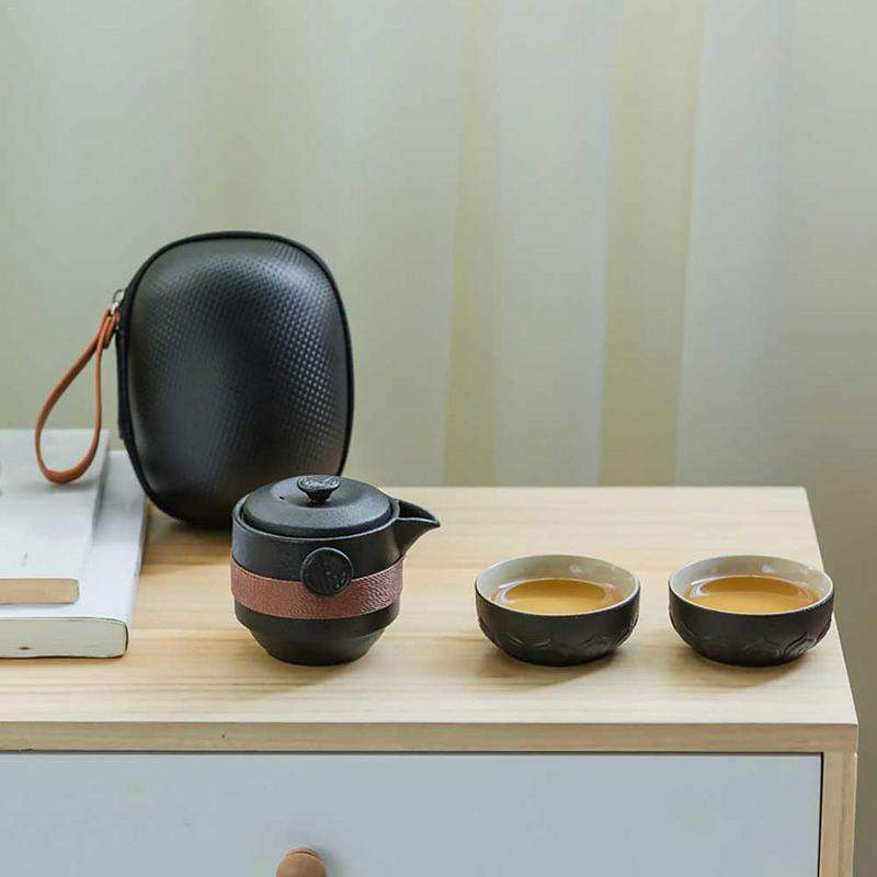 Portable Ceramic Coffee Sets - Gustobene