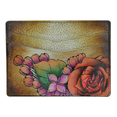 Anuschka Credit Card Case Lush Lilac Bronze 1032-LLC-BZ