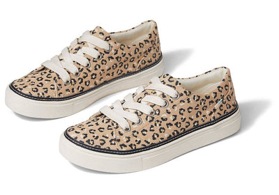 Toms Womens Alex Sneaker Natural Textured Cheetah