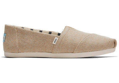 Toms Womens Alpargatas Natural Heritage Canvas