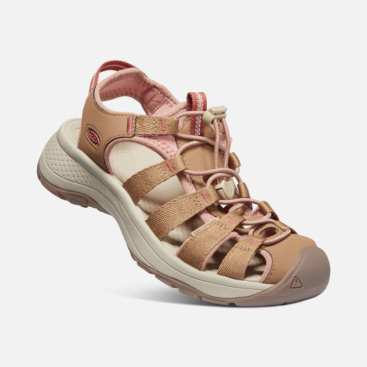 Keen Womens Astoria West Toasted Coconut Rose